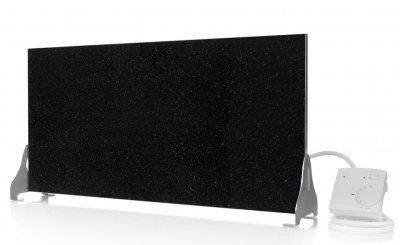 mobiles infrarot heizpaneel indian black marmor 400w 04 329 00. Black Bedroom Furniture Sets. Home Design Ideas